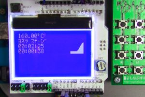 温度制御装置の画面(3)
