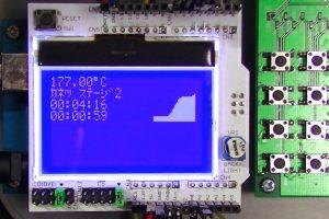 温度制御装置の画面(4)