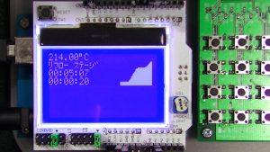 温度制御装置の画面(5)