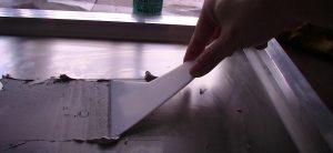 クリーム半田の印刷作業