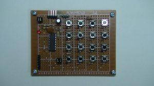 GZ-E565で撮影した基板