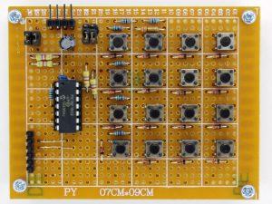 PIC16F1503を搭載したI2C接続のキーパッド