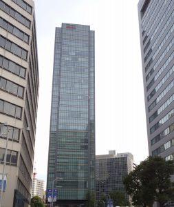 パースが付いたビルの写真