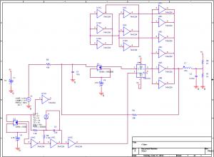 設計したD級アンプの回路図
