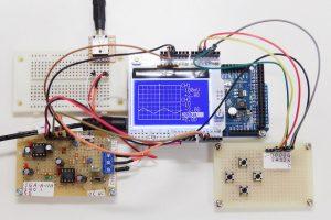 Arduino Dueが壊れて片チャンネルが動かなくなったオシロスコープ