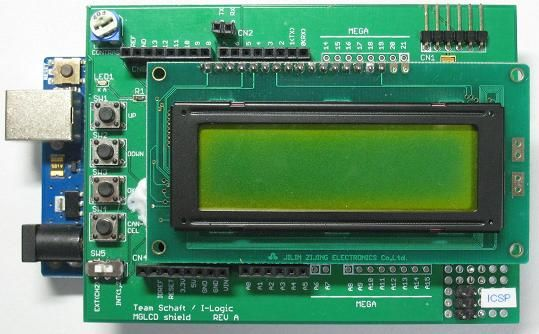 Making 122x32 monochrome graphic LCD shield (Rev  A) for